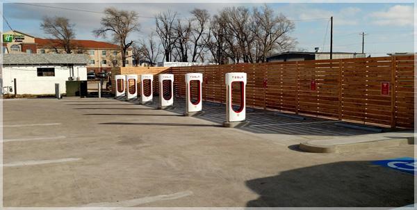 Shamrock Texas Gets Tesla Charging Station
