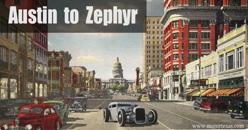 Texas Town Names Austin to Zephyr