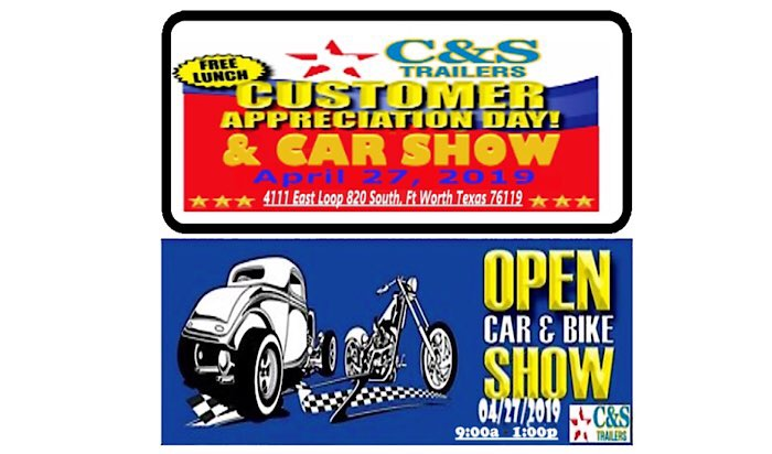 C&S Trailers Open Car Show