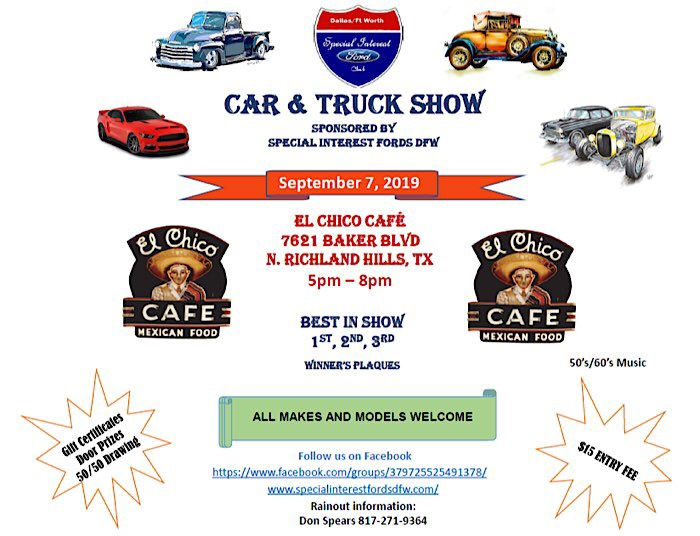 Texas Car Shows