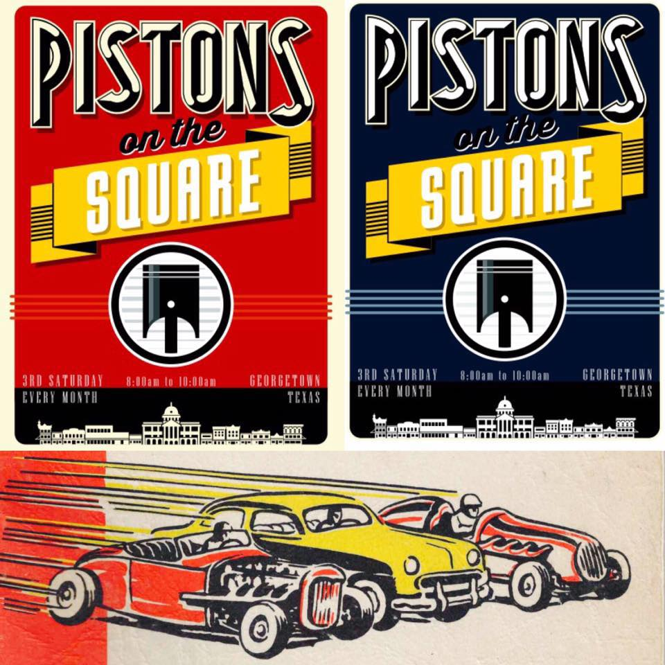 pistons on the square monthly