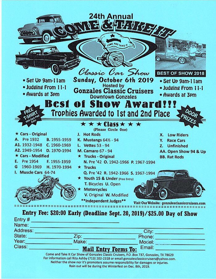 Texas Car Shows