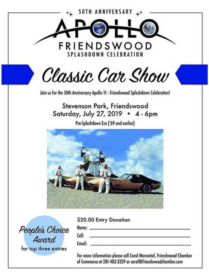 Apollo 50th Anniversary Splashdown Classic Car Show