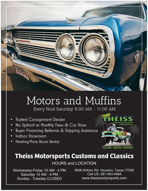 Theiss Motorsports Motors and Muffins