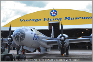 Vintage Flying Museum in Fort Worth